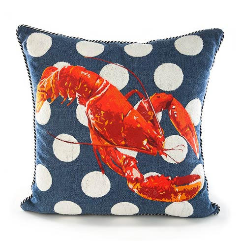 $150.00 Lobster Outdoor Accent Pillow