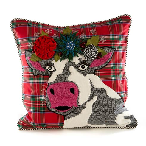 $150.00 Frida On Holiday Pillow