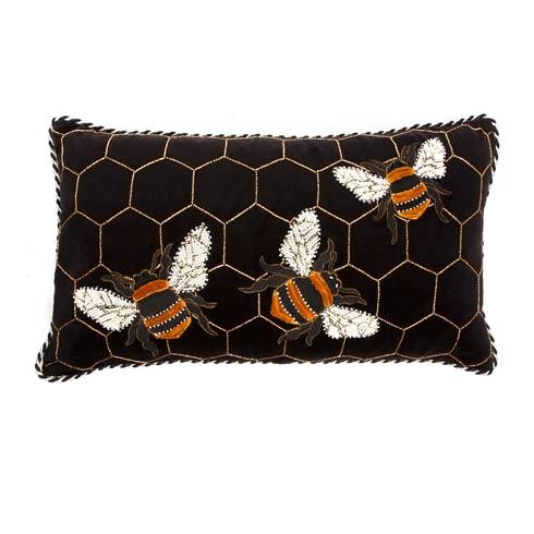 $110.00 Bumble Bee Lumbar Pillow