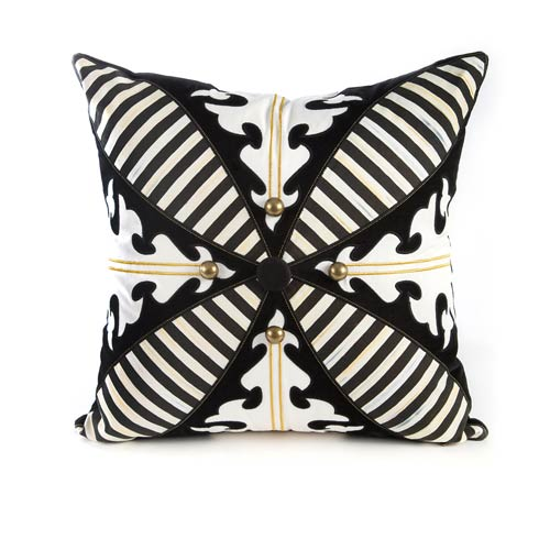 $110.00 Regiment Square Pillow