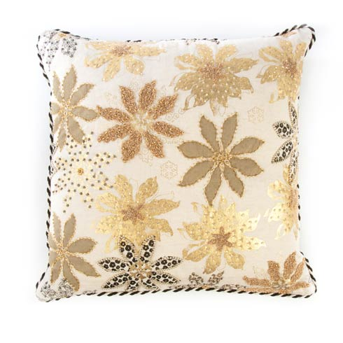 $75.00 Golden Flower Pillow