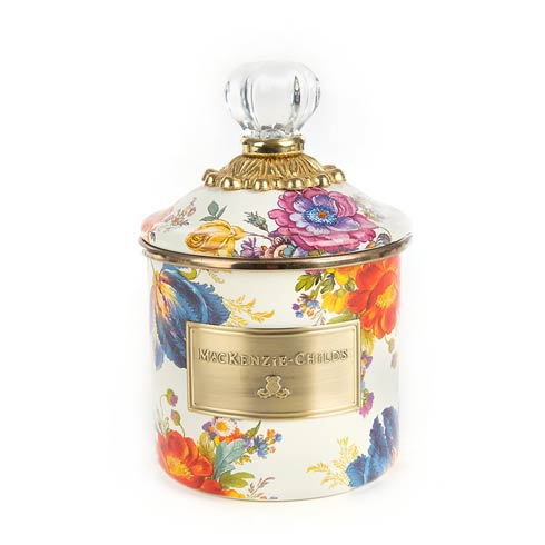 $82.00 Demi Canister - White