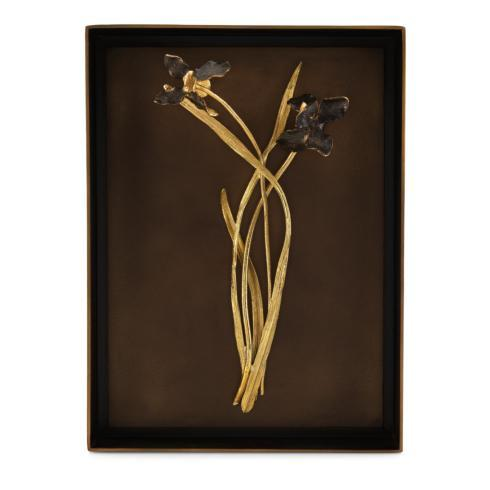 $395.00 Black Iris Shadow Box