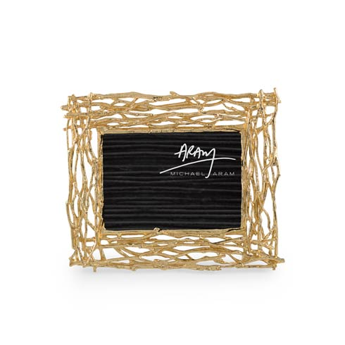 $125.00 Twig 4 x6 or 5x7 Frame - Gold