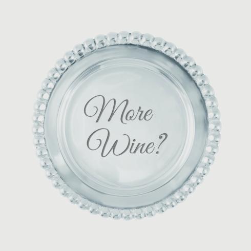$27.30 More Wine? Beaded Wine Coaster