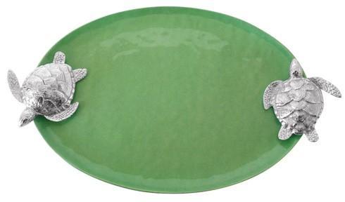 $154.00 Green Sea Turtle Handled