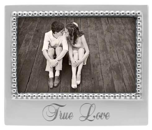 TRUE LOVE Beaded 4x6 Statement Frame image