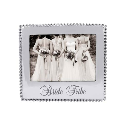 $69.00 BRIDE TRIBE Beaded 5x7 Frame