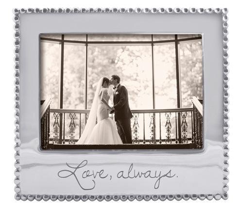 $69.00 Love, Always Beaded 5X7 Frame