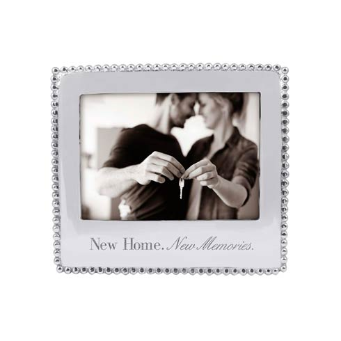 $69.00 NEW HOME. NEW MEMORIES. Beaded 5x7 Statement Frame