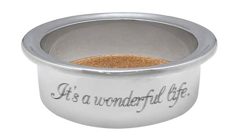 $49.00 IT\'S A WONDERFUL LIFE Signature Wine Cozy