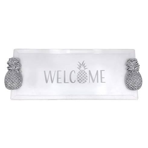 $98.00 Welcome Pineapple Handled Tray