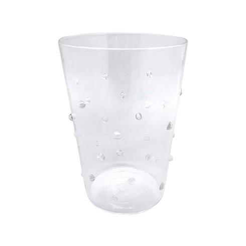 $39.00 Clear Dotty DOF Glass