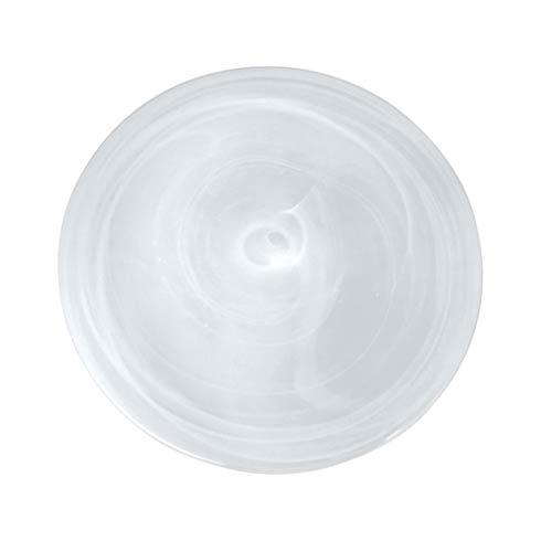 White Dessert Plate image