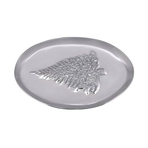 $59.00 Dotty Christmas Tree Oval Platter
