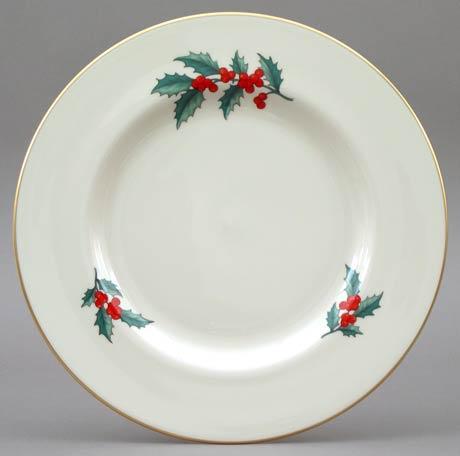 $22.00 Holly Dinner Plate
