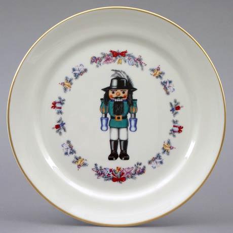 $14.40 Christmas Nutcracker Plate