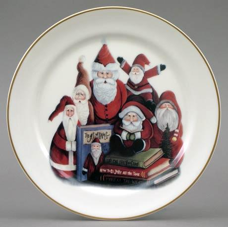 $14.40 Santa Group Plate