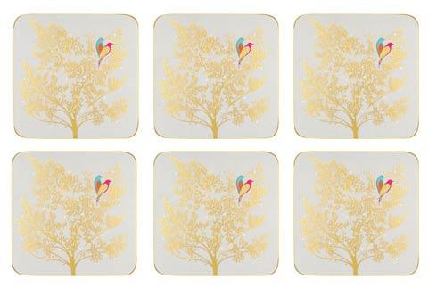 $15.00 Coasters - Set of 6 Light Grey