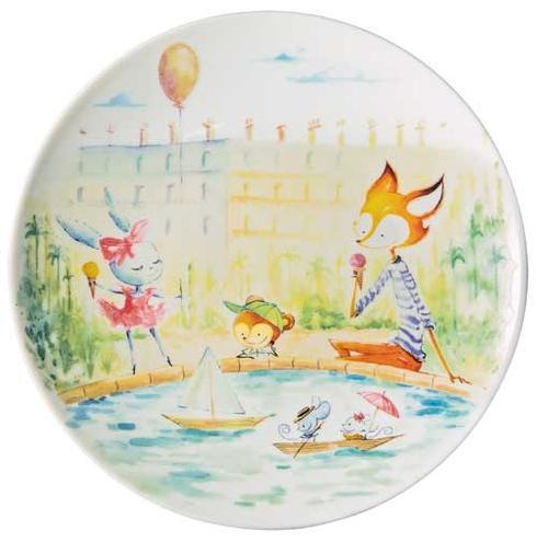 $90.00 Dessert Plate Number 4 Luxembourg