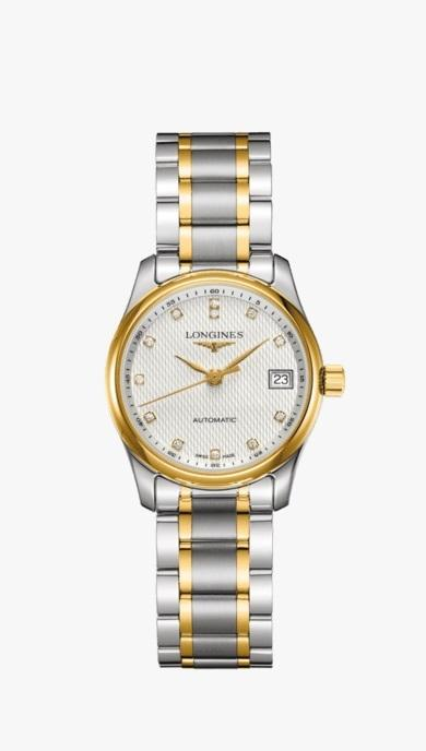 $2,825.00 Lds MASTER COLLECTION 29mm TT w/Dias Watch