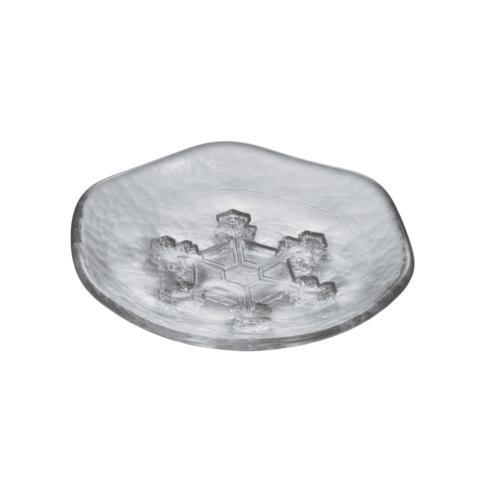 $80.00 Snowflake Platter