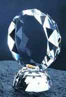 $48.00 Faceted Circle award small