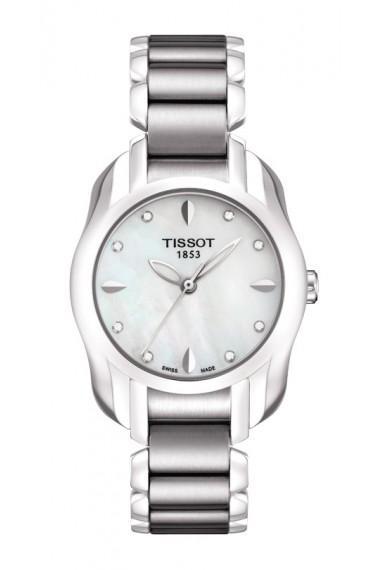 Sale: Tissot ~ T-Trend ~ T-Wave Women's Quartz White Mother of Pearl