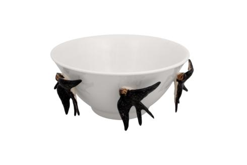 $305.00 Arte Bordallo Tall Bowl with Swallows