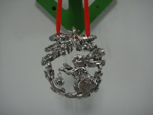 $28.00 2017 Bunny Ornament