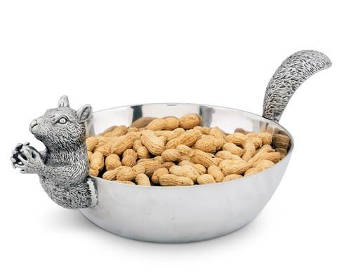 $120.00 Nut Bowl - Squirrel Head and Tail Large