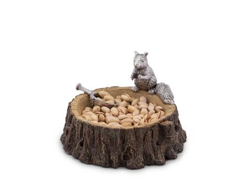 $55.00 Nut Bowl - Standing Squirrel
