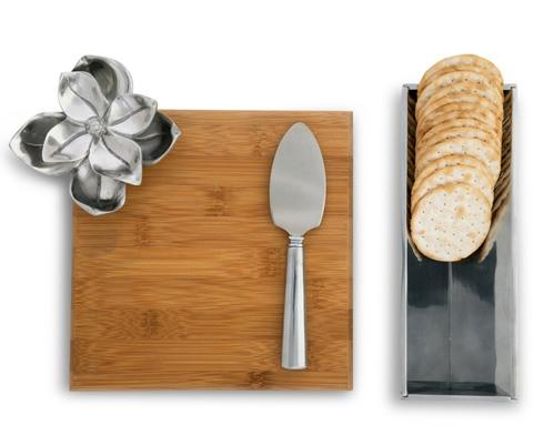 Cheese Set  Bamboo Board