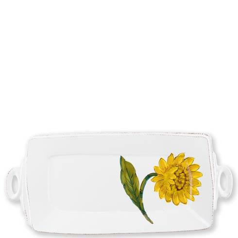 Handled Rectangular Platter image