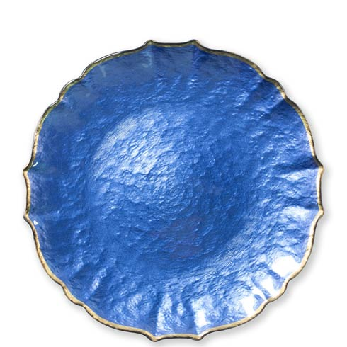 $34.00 Cobalt Service Plate / Charger