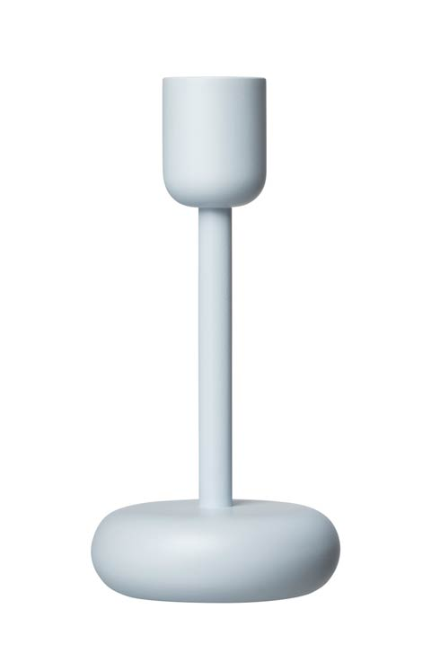 """$50.00 Candleholder 7.25"""" Aqua"""