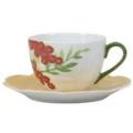 Royal Limoges Nymphea - Fruits d'Eté Tea saucer
