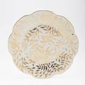 Royal Limoges Nymphea - Olivier Gold Dinner plate