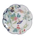 Royal Limoges Nymphea - Paradis bleu Dinner plate French size