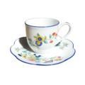 Royal Limoges Nymphea - Paradis bleu Coffee cup
