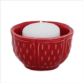 $23.00 Votive Red