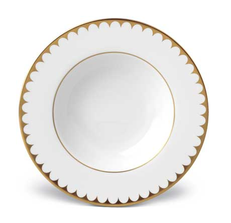Aegean Filet Gold Soup Plate