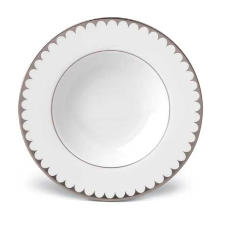 Aegean Filet Platinum Soup Plate