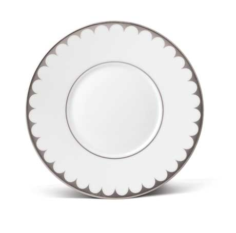 Aegean Filet Platinum Saucer