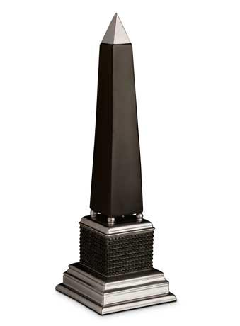 Bibliotheque Platin Obelisk