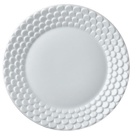 Aegean White Sculpted Bread & Butter Plate
