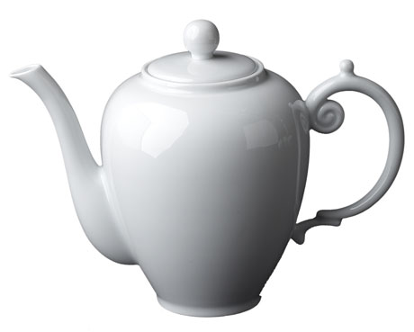 Aegean White Tea/Coffee Pot