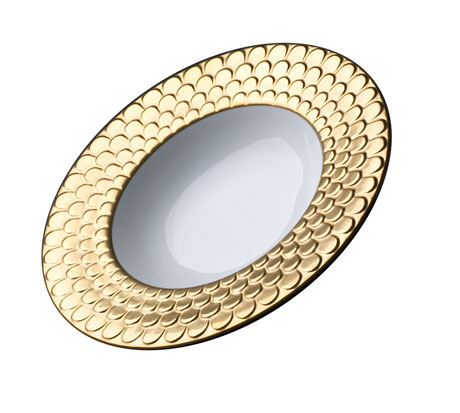 Aegean Gold Soup Plate