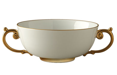 Aegean Gold Soup Bowl