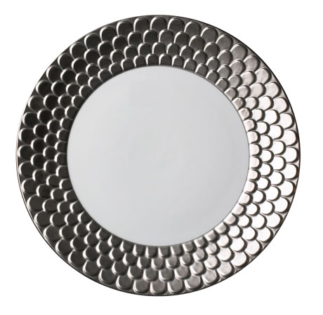 Aegean Platinum Dinner Plate